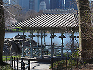 The Ladies Pavillion near the Hernshead along The Lake in Central Park