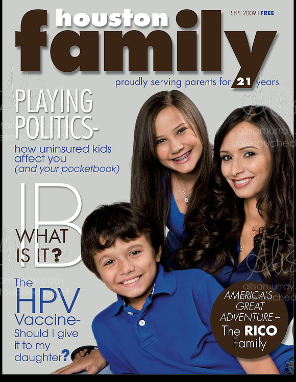 Houston Family Cover September 2009