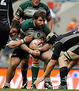 Twickenham, GREAT BRITAIN,   Leicesters', Martin CASTROGIOVANNI, during the EDF Energy Cup Final rugby match,  Leicester Tiger vs Ospreys, at Twickenham Stadium, Surrey on Sat 12.04.2008 [Photo, Peter Spurrier/Intersport-images]