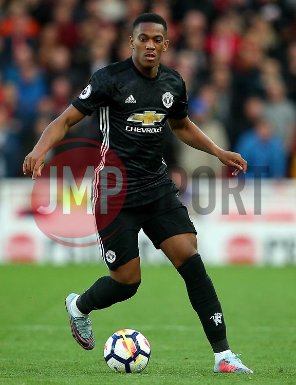 Anthony Martial of Manchester United - Mandatory by-line: Matt McNulty/JMP - 09/09/2017 - FOOTBALL - Bet365 Stadium - Stoke-on-Trent, England - Stoke City v Manchester United - Premier League