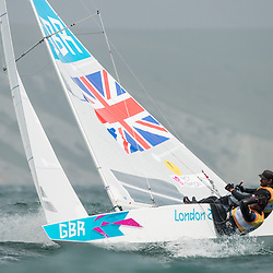 2012 Olympic Games London / Weymouth<br /> Percy Iain, Simpson Andrew, (GBR, Star)
