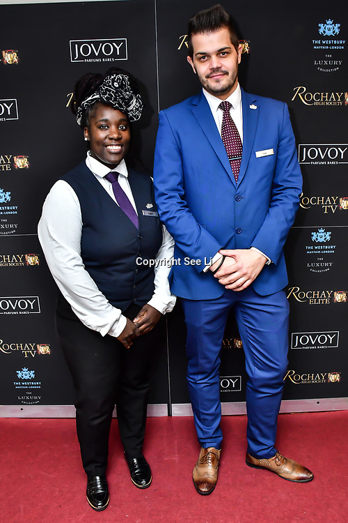 Kevin Rochay is a Chairman hosts Rochay High Society Soiree with Jovoy at Westbury Mayfair on 21 November 2019, London, UK.