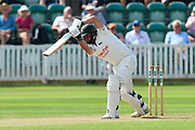 Steven Mullaney of Nottinghamshire batting during the Specsavers County Champ Div 1 match between Somerset County Cricket Club and Nottinghamshire County Cricket Club at the Cooper Associates County Ground, Taunton, United Kingdom on 10 June 2018. Picture by Graham Hunt.