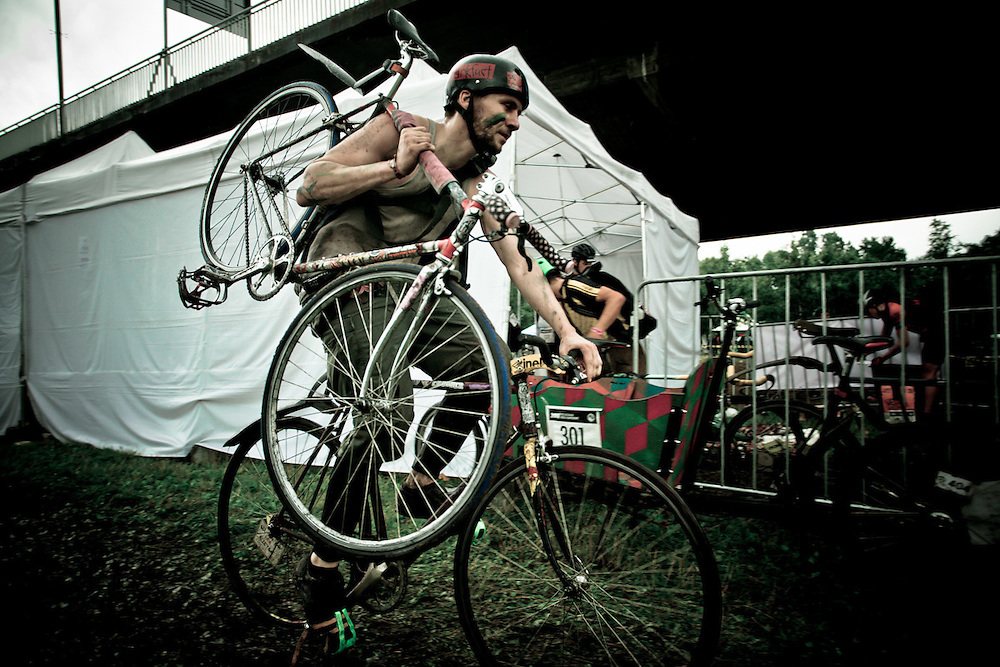 1st-3th September 2011, Warsaw, Poland. Cycle Messengers World Champions took place on Warsaw. Photo: Krystian Maj