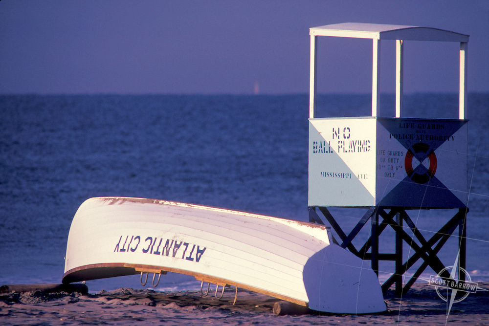 Lifeguard Tower, Lifeboat