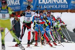 10.12.2011, Biathlonzentrum, Hochfilzen, AUT, E.ON IBU Weltcup, 2. Biathlon, Hochfilzen, Verfolgung Damen, im Bild Reihelaufen zum schiessen // during E.ON IBU World Cup 2th Biathlon, Hochfilzen, Austria on 2011/12/10. EXPA Pictures © 2011. EXPA Pictures © 2011, PhotoCredit: EXPA/ nph/ Straubmeier..***** ATTENTION - OUT OF GER, CRO *****