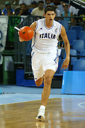ATENE, 23 AGOSTO 2004<br /> OLIMPIADI ATENE 2004<br /> BASKET<br /> ITALIA - ARGENTINA<br /> NELLA FOTO: NIKOLA RADULOVIC<br /> FOTO CIAMILLO