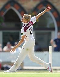 Olly Stone of Northamptonshire - Photo mandatory by-line: Dougie Allward/JMP - Mobile: 07966 386802 - 09/07/2015 - SPORT - Cricket - Cheltenham - Cheltenham College - LV=County Championship 2