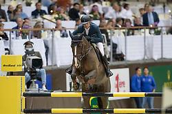 Duguet Romain, (FRA), Quorida de Treho<br /> Credit Suisse Grand Prix<br /> CHI de Genève 2016<br /> © Hippo Foto - Dirk Caremans<br /> 08/12/2016