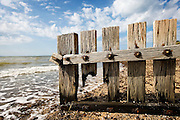 groyne on beach at St Leonards