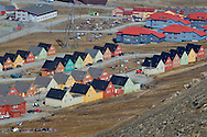Alberto Carrera, Top View, Longyearbyen, Arctic, Spitsbergen, Svalbard, Norway, Europe