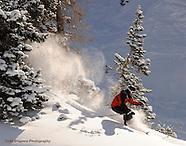 Alta Powder, Utah, Skiing