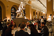 Outset dinner 2011.  Organised by Yana Peel supported by Swarovskito raise funds for the V+A to starts its contemporary design collection. V & A. London. 23 March 2011. -DO NOT ARCHIVE-© Copyright Photograph by Dafydd Jones. 248 Clapham Rd. London SW9 0PZ. Tel 0207 820 0771. www.dafjones.com.