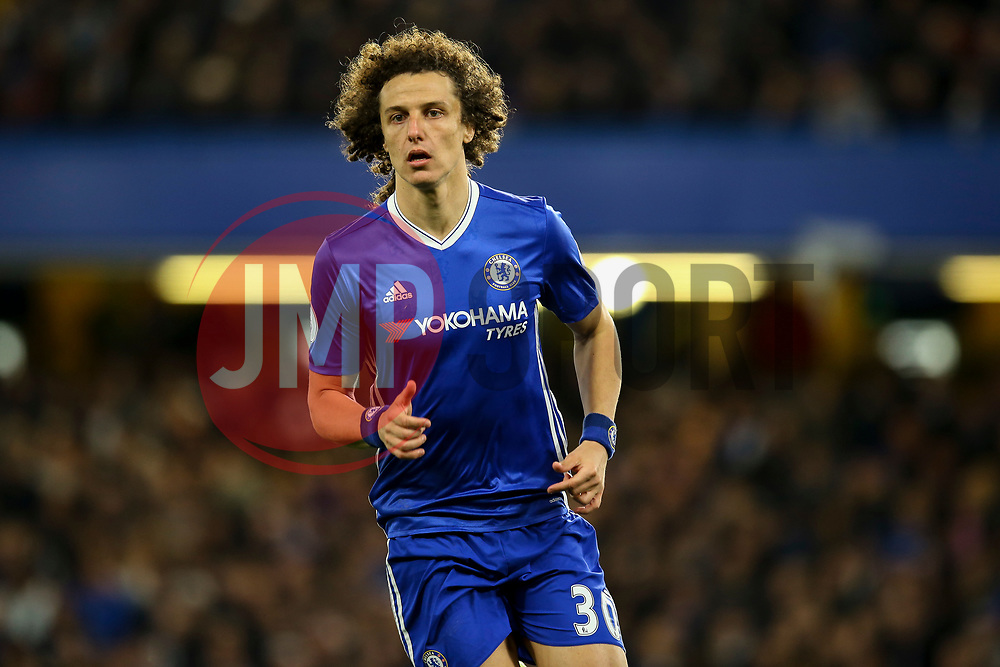 David Luiz of Chelsea in action - Mandatory by-line: Jason Brown/JMP - 08/05/17 - FOOTBALL - Stamford Bridge - London, England - Chelsea v Middlesbrough - Premier League