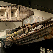 "History Miami Museum shows the wooden boats used by Cuban and Haitian refugees to reach the United States.<br />  Miami is nicknamed the ""Capital of Latin America"".  Downtown is home to the largest concentration of international banks in the United States, and many large national and international companies. Photography by Jose More"