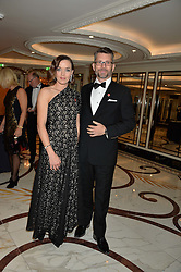 VICTORIA PENDLETON and SCOTT GARDNER at the 26th Cartier Racing Awards held at The Dorchester, Park Lane, London on 8th November 2016.