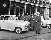 1958 Circuit of Ireland Drivers at Lincoln and Nolan