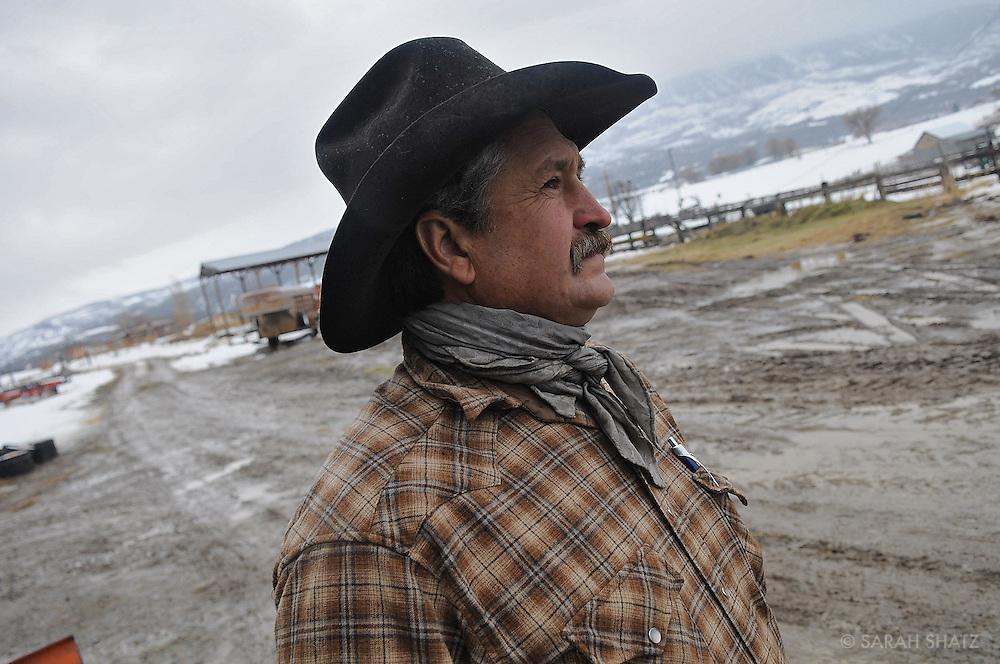 Mark Roeber, cattle rancher, Mt. Lamborn Ranch, Colorado