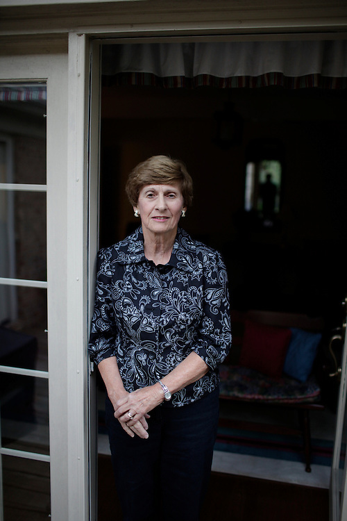Ann B. Maddox, 72, at her home in Fayetteville, N.C., Thurs., Oct. 21, 2010, was diagnosed with thyroid cancer seven years and ingested radioactive iodine at Johns Hopkins in Baltimore to kill the malignant cancer cells.