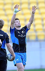 Wellington-Rugby, New Zealand captains run