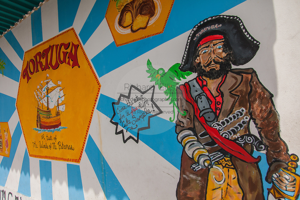 Advertisement for Tortuga Rum Cakes in Nassau , Bahamas.