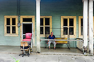 Barber shop in Bolivia, Ciego de Avila Province, Cuba.