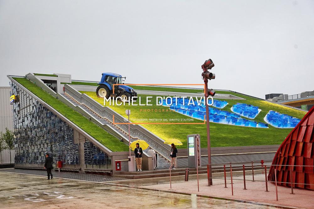 Padiglione New Holland<br /> Expo2015 Milano 1/05/2015