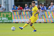 AFC Wimbledon midfielder Jake Reeves (8) during the Pre-Season Friendly match between Margate and AFC Wimbledon at Hartsdown Park, Margate, United Kingdom on 16 July 2016. Photo by Stuart Butcher.