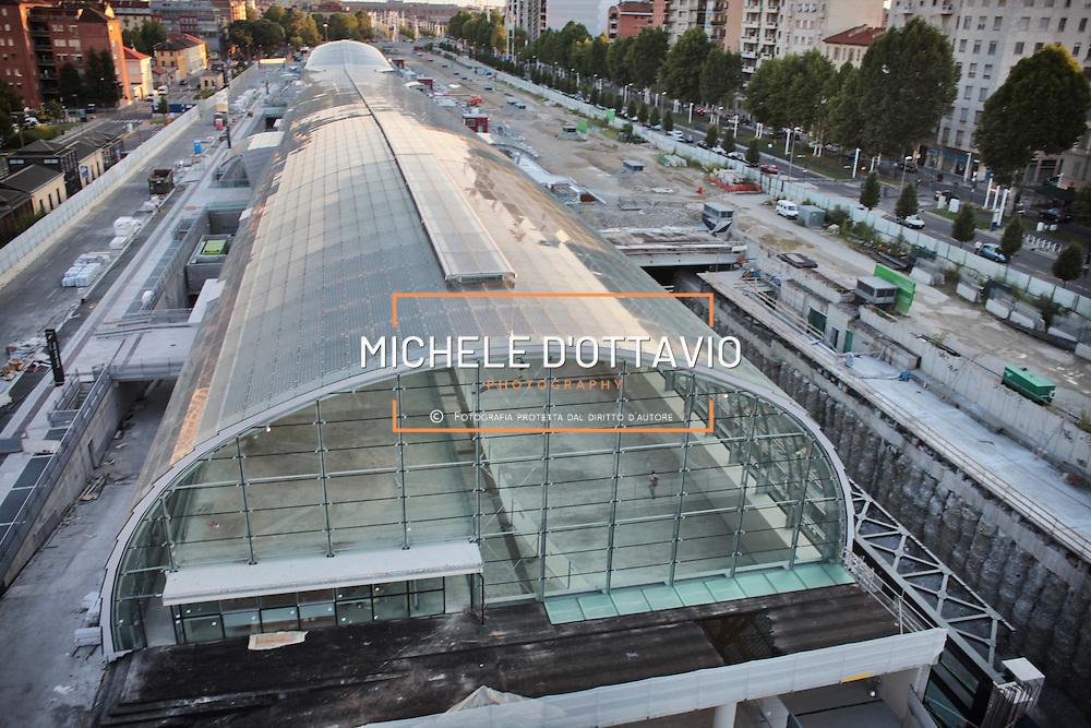 cantiere Stazione Porta Susa, Torino 8 agosto 2012