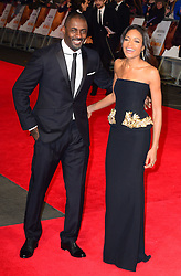 Idris Elba and Naomie Harris attend The Royal Film Performance of Mandela Loing Walk To Freedom Film Premiere at Odeon Leicester Square, London, United Kingdom. Thursday, 5th December 2013. Picture by Nils Jorgensen / i-Images