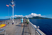 Moorea to Tahiti Ferry, French Polynesia, South Pacific