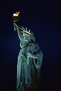 Statue of Liberty at Dusk, Statue of Liberty National Monument, New York City, New  York, New Jersey