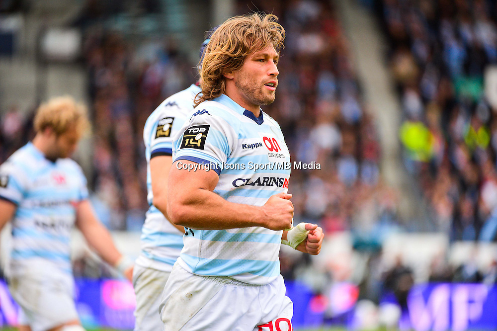Dimitri SZARZEWSKI  - 11.04.2015 - Racing Metro / Montpellier  - 22eme journee de Top 14 <br />