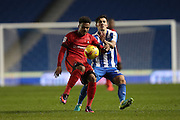 Leyton Orient's Josh Koroma during the EFL Trophy Southern Group G match between U23 Brighton and Hove Albion and Leyton Orient at the American Express Community Stadium, Brighton and Hove, England on 8 November 2016.