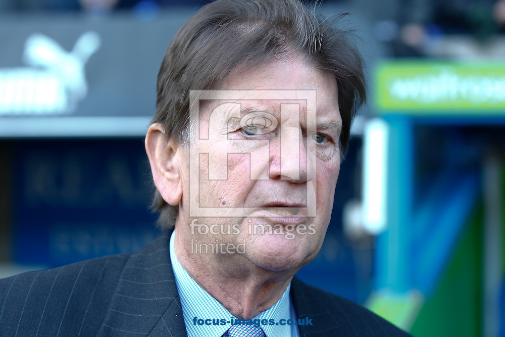 Picture by Andrew Tobin/Focus Images Ltd. 07710 761829. .11/02/12. John Madejski, co-owner of Reading FC, looks on during the Npower Championship match between Reading and Coventry at Madejski stadium, Reading.