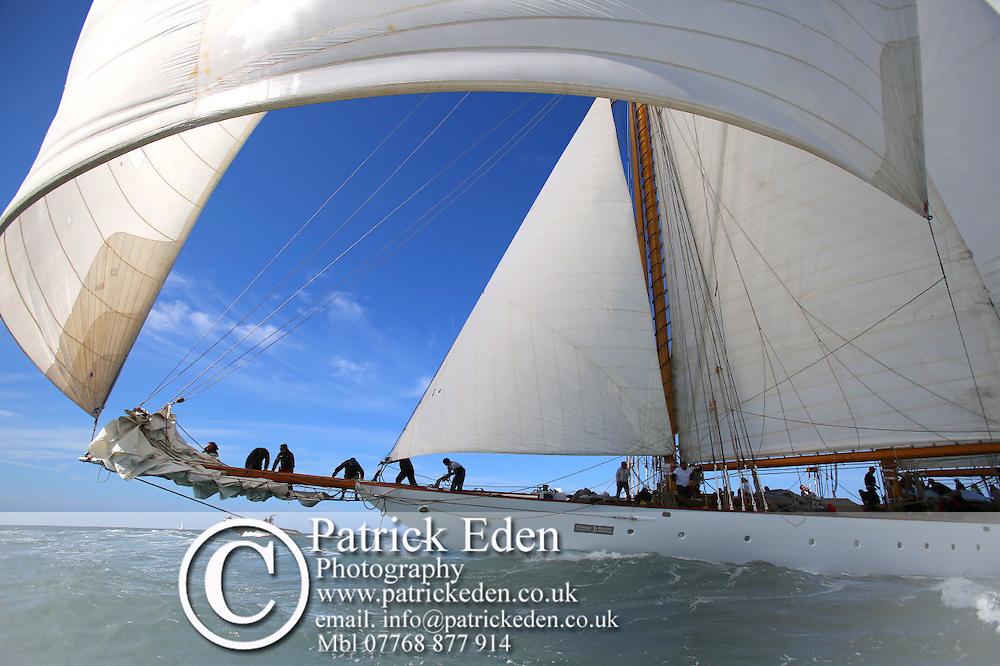 Eleonora, Round the Island Race,2015, J P Morgan Round the island Race 2015