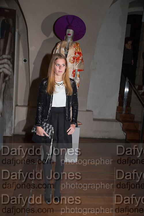 PRINCESS BEATRICE, Isabella Blow: Fashion Galore! private view, Somerset House. London. 19 November 2013