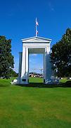 Peace Arch, U.S. Canada Border