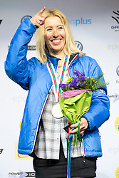 HERNANDEZ-CERVELLON Cecile, World Champion, Banked Slalom, 2015 IPC Snowboarding World Championships, La Molina, Spain