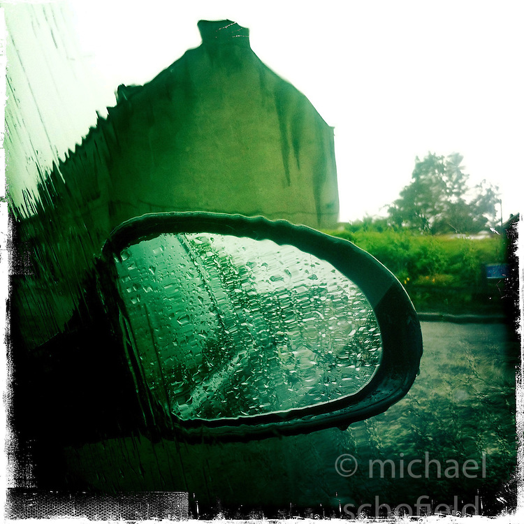 Rain..Hipstamatic images taken on an Apple iPhone..©Michael Schofield.