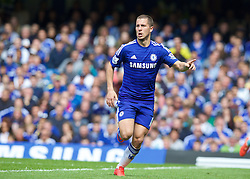 LONDON, ENGLAND - Sunday, May 3, 2015: Chelsea's Eden Hazard in action against Crystal Palace during the Premier League match at Stamford Bridge. (Pic by David Rawcliffe/Propaganda)