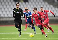 FODBOLD: Lucas Haren (FC Helsingør) under træningskampen mellem Fremad Amager og FC Helsingør den 2. februar 2019 i Sundby Idrætspark. Foto: Claus Birch