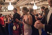 LYDIA HUDSON; , The Royal Caledonian Ball 2015. Grosvenor House. Park Lane, London. 1 May 2015.