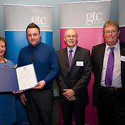Images from the 2014 GTSC Probabtion Event Pictured are Jackie Brock (Chief Executive of Children First), James Rodgers (Inverclyde),,Ken Muir (Chief Executive GTCS) and Derek Thompson (Convener GTCS). Thursday 12th June 2014.