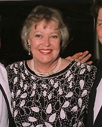 BARONESS WHARTON at a ball in London on April 8th 1997.<br /> LXM 21 WO
