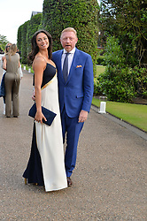 BORIS & LILLY BECKER at The Ralph Lauren & Vogue Wimbledon Summer Cocktail Party at The Orangery, Kensington Palace, London on 22nd June 2015.  The event is to celebrate ten years of Ralph Lauren as official outfitter to the Championships, Wimbledon.