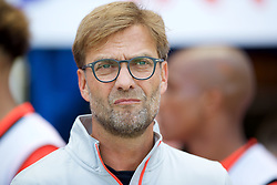 WIGAN, ENGLAND - Sunday, July 17, 2016: Liverpool's manager Jürgen Klopp before a pre-season friendly match against Wigan Athletic at the DW Stadium. (Pic by David Rawcliffe/Propaganda)