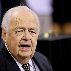 Aug 30, 2015; New Orleans, LA, USA; New Orleans Saints owner Tom Benson before a preseason game against the Houston Texans at the Mercedes-Benz Superdome. Mandatory Credit: Derick E. Hingle-USA TODAY Sports