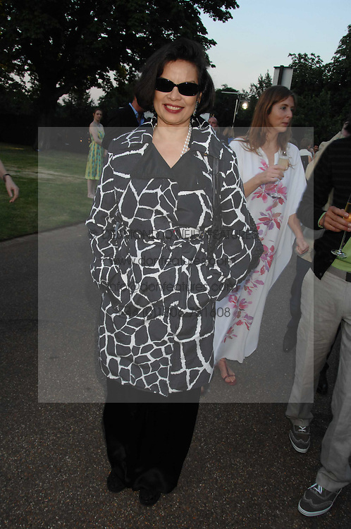 BIANCA JAGGER at the annual Serpentine Gallery Summer Party in association with Swarovski held at the gallery, Kensington Gardens, London on 11th July 2007.<br /><br />NON EXCLUSIVE - WORLD RIGHTS