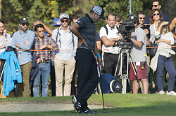 October 14, 2017 - Monza, Italy - Sergio Garcia of Spain on Day three of the Italian Open at Golf Club Milano  (Credit Image: © Gaetano Piazzolla/Pacific Press via ZUMA Wire)